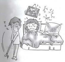 ทำไมบางครั้ง เราถึงนอนละเมอ