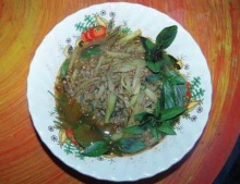 แกงปูนามะละกอ