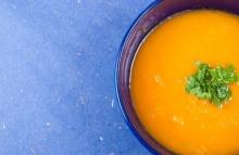 ซุปฟักทองนมสด