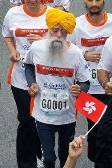 คุณปู่อินเดียวัย 101 ปี นักวิ่งมาราธอนแก่ที่สุดในโลก