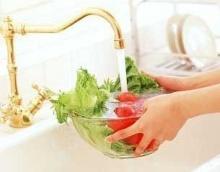 อย่าใช้เกลือล้างผักและผลไม้