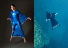 ฝรั่งเศลเจ๋ง ออกแบบทดลองชุดสุดเจ๋งบินใต้ทะเล