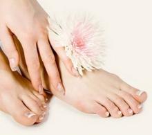 สร้างความเนียนนุ่มให้ผิวเท้า