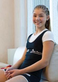นักกล้ามสาว วัย 13 สุดน่ารัก