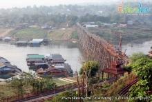 ย้อนชมภาพ ความงาม ของ สะพานอุตตมานุสรณ์ (สะพานมอญ)