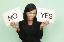 Yes กับ No ถูกต้องกับถูกใจ
