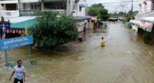 ประกาศกรมอุตุนิยมวิทยาเรื่องฝนตกหนักบริเวณประเทศไทย