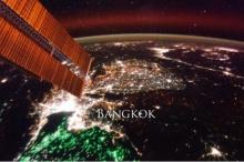 ส่องกรุงเทพจากนาซ่า กลางคืนสว่างโชติช่วง ส่วนเกาหลีเหนือมืดมิด