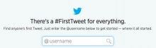 Tweet แรกของคุณบน Twitter คืออะไร มาดูกันได้ที่ #FirstTweet!