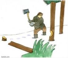 นิทานเรื่องคนตัดต้นไม้