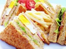 สูตรอาหารไมโครเวฟ – คลับแซนวิช