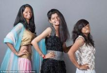 อินเดียถ่ายแฟชั่นหญิงถูกสาดน้ำกรด สร้างแรงบันดาลใจให้เหยื่อ