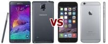 ใครเจ๋งกว่าไปดูกัน!!! iPhone 6 Plus กับ Samsung Galaxy Note 4