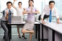 ทำงานเครียดๆ ขยับร่างกายกันหน่อยดีกว่า
