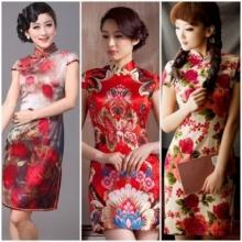 แฟชั่นชุดแดงสวยเริ่ดวันตรุษจีน