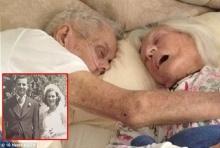 รักแท้ชั่วนิรันดร์! คุณปู่-คุณย่า นอนจับมือสิ้นใจ หลังครองรักกัน 75 ปี