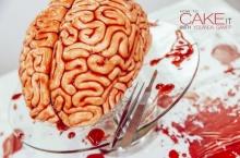 """ต้อนรับวันฮาโลวีนกับ """"เค้กสมองไหล"""" เอาใจซอมบี้ผู้ชอบกินสมองโดยเฉพาะ!!"""