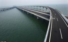 ภาพสวย ๆ ของสะพานข้ามทะเลของจีน ที่ยาวอันดับ 2 ของโลก
