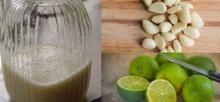 วิธีทำน้ำหมักกระเทียมกับมะนาว รักษาสารพัดโรค