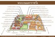 ชมภาพ แผนที่และส่วนต่างๆ ภายในพระบรมมหาราชวัง