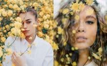 สวยแพงแบบมีระดับ!! ไอเดียโพสท่าถ่ายรูปคู่กับดอกไม้