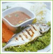 น้ำพริกกะปิ ปลาทูย่าง