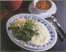 ขนมจีนน้ำยาปลาร้า