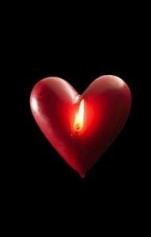 เทียนไขกับความรัก