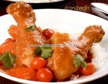 ข้าวหน้าสตูไก่