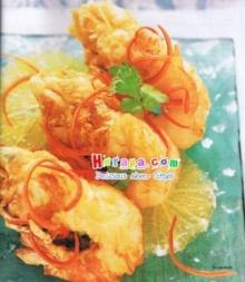 กุ้งนางอบส้มเช้ง