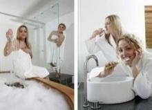 ผู้หญิงกับผู้ชายมีวิธีอาบน้ำต่างกันอย่างไร