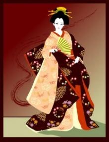 กิโมโน - Kimono (着物)