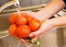 การล้างผักสดให้สะอาด