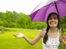 สาวออฟฟิตกับหน้าฝน
