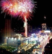 สถานที่ท่องเที่ยวเทศกาลปีใหม่ 2555 Countdown to New Year 2012
