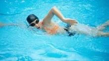 ออกกำลังกายในน้ำ ลดพุง