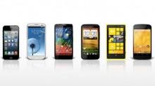 เปรียบเทียบ 6 รุ่นเด่น SmartPhone ปี 2012 (comparison guide)