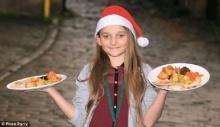 ซานตี้ใจดี วัย 10 ขวบ เลี้ยงฉลองคริสต์มาสให้คนเร่ร่อน ตามเจตนารมณ์ของพ่อที่เสียชีวิต