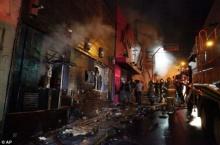 ภาพ..โศกนาฏกรรมไฟไหม้ครั้งใหญ่ในบราซิล