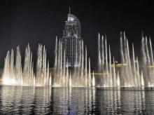 น้ำพุแห่งดูไบ น้ำพุเต้นระบำที่ใหญ่ที่สุดในโลก