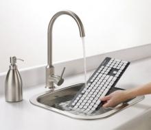 นวัตกรรมใหม่ คีย์บอร์ดกันน้ำล้างน้ำได้เมื่อสกปรก