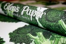 สุดแนว นวัตกรรมแห่งปี กระดาษห่อของขวัญ นำมาปลูกผักสดๆได้