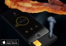 """ให้ iPhone ปลุกคุณตื่นด้วยกลิ่น""""เบคอน"""""""