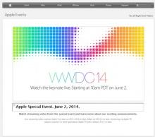 แอปเปิลถ่ายทอดสด งาน WWDC 14, คาดเปิดตัว iOS 8 (2 มิ.ย.)