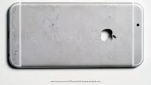 ฝาหลัง Apple iPhone6 รุ่น 4.7 นิ้ว โผล่แล้ว อลูมิเนียมขึ้นรูปทั้งชิ้น หลุดมาชัดทั้งภาพและวีดีโอ