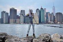 New York Body Painting by Trina Merry – พรางตัวในนครนิวยอร์ค