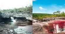 เที่ยว แม่น้ำ 5 สี ปาฏิหาริย์แห่งธรรมชาติ เกิดขึ้นเพียงปีละครั้งเท่านั้น!!