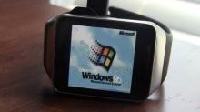 จะเกิดอะไรขึ้น!? เมื่อเอา Windows 95 มายัดลงในนาฬิกา Samsung Gear Live