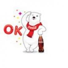 ดาวโหลด Line Sticker Coke ฟรีได้ถึง 3 ธันวาคมนี้!!!