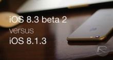 เปรียบเทียบความเร็ว iPhone4S,5 บน iOS 8.3 beta 2 และ iOS 8.1.3